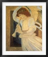 Framed Angel With Shofar