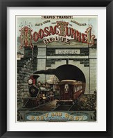 Framed Hoosac Tunnel