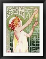 Framed Absinthe Robette Archival