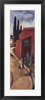 Framed La Casa Vermella