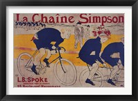 Framed La Chaine Simpson