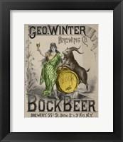 Framed Bockbeer Green