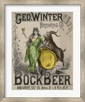 Framed Bockbeer Green