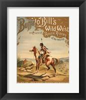 Framed Buffalo Bills Wild West I