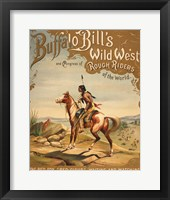Framed Buffalo Bills Wild West I