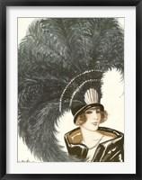 Framed Lavie Parisienne Featherhat
