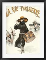 Framed Lavie Parisienne Hatbox