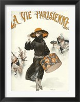 Framed Lavie Parisienne Hatbox