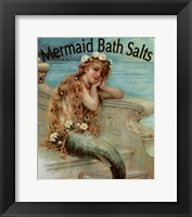 Framed Mermaid Bathsalts