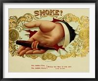 Framed Smoke Cig