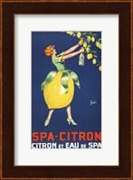 Framed Spa Citron