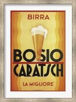 Framed Birra Bosio