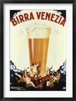 Framed Birra Venezia