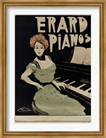 Framed Erard Pianos