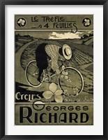 Framed Georges Richard