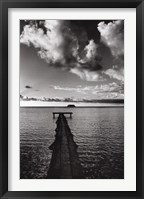 Framed Jetty of Atiapiti, Raiatea, French Polynesia