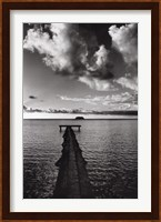 Framed Jetty of Atiapiti, Raiatea, French Polynesia