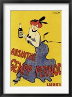 Framed Abinsthe Gemp Pernod