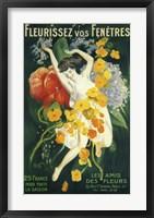 Framed Fleurissez vos Fenetres