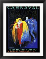 Framed Carnaval Vinho do Porto