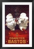 Framed Cigarettes Bastos