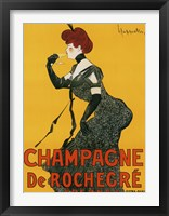 Framed Champagne De Rochegre
