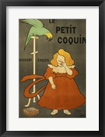 Framed Le Petit Coquin