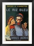 Framed Le Reiz Bleu