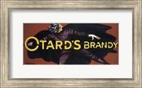 Framed Otard's Brandy