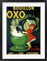 Framed Bouillon OXO