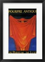 Framed Pourpre Antique