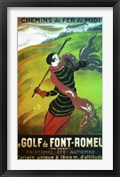 Framed Le Golf de Font Romeau