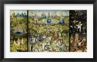 Framed Garden Of Earthly Delights