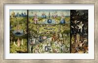 Framed Bosch - Garden Of Earthly Delights