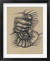 Framed Foot and Hands