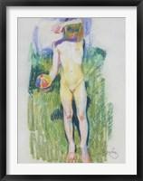 Framed Girl with a Ball