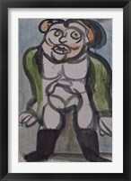 Framed Circus Trainer