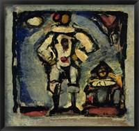 Framed Two Clowns
