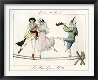 Framed Tightrope Walkers French