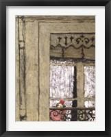 Framed Child At Window