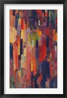 Framed Mme Kupka among Verticals