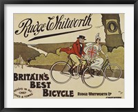 Framed Rudge Whitworth Bicycles