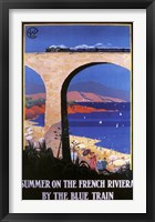 Framed French Riviera