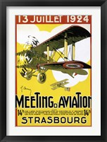 Framed Strasbourg Aviation