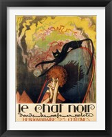 Framed Le Chat Noir 2