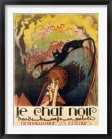 Framed Le Chat Noir 2