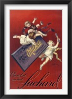 Framed Capp Suchard Red