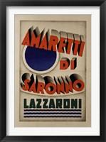 Framed Amaretti