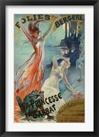 Framed Folies Bergere Pal