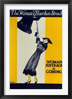 Framed Womans Suffrage
